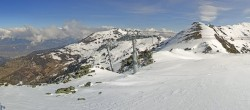 Archiv Foto Webcam Le Rotsé - Skigebiet St Luc Chandolin 04:00