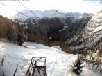 Archiv Foto Webcam Blick auf die Mont-Blanc-Gruppe 02:00