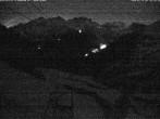 Archiv Foto Webcam Blick auf die Mont-Blanc-Gruppe 20:00
