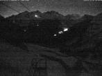 Archiv Foto Webcam Blick auf die Mont-Blanc-Gruppe 22:00