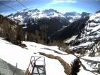 Archiv Foto Webcam Blick auf die Mont-Blanc-Gruppe 06:00
