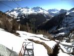 Archiv Foto Webcam Blick auf die Mont-Blanc-Gruppe 08:00