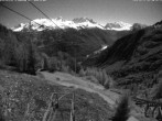 Archiv Foto Webcam Blick auf die Mont-Blanc-Gruppe 19:00