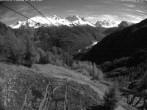 Archiv Foto Webcam Blick auf die Mont-Blanc-Gruppe 21:00