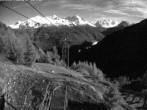 Archiv Foto Webcam Blick auf die Mont-Blanc-Gruppe 23:00