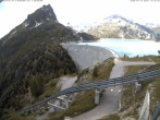 Archiv Foto Webcam Stausee Lac d'Émosson 08:00