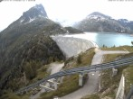 Archiv Foto Webcam Stausee Lac d'Émosson 12:00