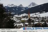 Archiv Foto Webcam Blick auf Welsberg (Gsieser Tal, Südtirol) 02:00