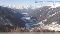 Archived image Webcam View towards village St. Magdalen in Valley Gsieser, South Tyrol 02:00
