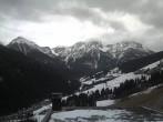 Archiv Foto Webcam Hotel Hubertus in Olang - Blick Richtung Dolomiten 06:00