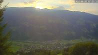 Archiv Foto Webcam Ferienhaus Enzian Blickrichtung Aschau im Zillertal 06:00