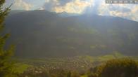 Archiv Foto Webcam Ferienhaus Enzian Blickrichtung Aschau im Zillertal 08:00
