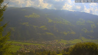 Archiv Foto Webcam Ferienhaus Enzian Blickrichtung Aschau im Zillertal 09:00
