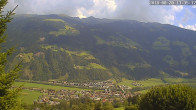 Archiv Foto Webcam Ferienhaus Enzian Blickrichtung Aschau im Zillertal 12:00
