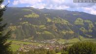 Archiv Foto Webcam Ferienhaus Enzian Blickrichtung Aschau im Zillertal 13:00