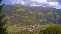 Archiv Foto Webcam Ferienhaus Enzian Blickrichtung Aschau im Zillertal 14:00