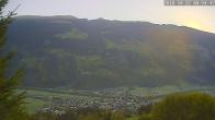 Archiv Foto Webcam Ferienhaus Enzian Blickrichtung Aschau im Zillertal 07:00