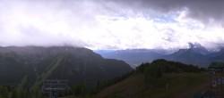 Archiv Foto Webcam Panorama Lake Louise 07:00