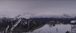 Archived image Webcam Panorama Ski Lake Louise 01:00