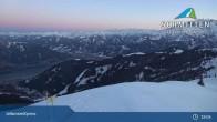 Archiv Foto Webcam Schmitten: Bergstation des zellamseeXpress 21:00