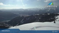 Archiv Foto Webcam Schmitten: Bergstation des zellamseeXpress 03:00