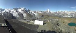 Archiv Foto Webcam Zermatt: Gornergrat Bergstation 04:00