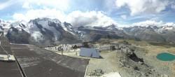 Archiv Foto Webcam Zermatt: Gornergrat Bergstation 08:00