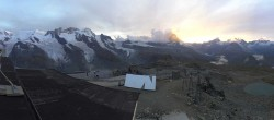 Archiv Foto Webcam Zermatt: Gornergrat Bergstation 14:00