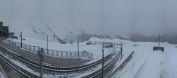 Archiv Foto Webcam Zermatt: Gornergrat Bergstation 00:00
