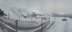 Archiv Foto Webcam Zermatt: Gornergrat Bergstation 02:00