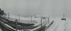 Archiv Foto Webcam Zermatt: Gornergrat Bergstation 10:00