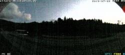 Archiv Foto Webcam Arber: Hohenzollern Skistadion 22:00