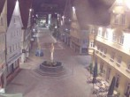 Archived image Webcam Aalen - Town square 20:00