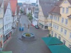 Archived image Webcam Aalen - Town square 00:00