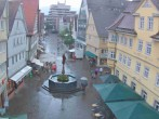 Archived image Webcam Aalen - Town square 08:00