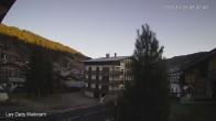 Archiv Foto Webcam Zentrum Les Gets - Blick zur Mont Chery Piste 02:00