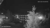 Archiv Foto Webcam Zentrum Les Gets - Blick zur Mont Chery Piste 23:00