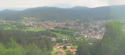 Archived image Webcam Panoramic View Bodenmais 04:00