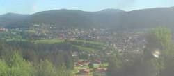 Archiv Foto Webcam Panoramablick auf Bodenmais 02:00