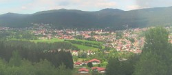 Archiv Foto Webcam Panoramablick auf Bodenmais 08:00