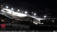 Archiv Foto Webcam Arlberghaus Zürs - SnowCam 22:00