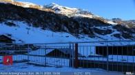 Archiv Foto Webcam Arlberghaus Zürs - SnowCam 10:00