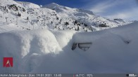Archived image Webcam Snowcam: Arlberghaus Zürs 08:00