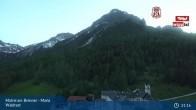 Archiv Foto Webcam Matrei am Brenner: Wallfahrtsort Maria Waldrast 21:00