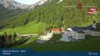 Archiv Foto Webcam Matrei am Brenner: Wallfahrtsort Maria Waldrast 01:00
