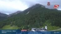Archived image Webcam Matrei am Brenner: Pilgrimage Maria Waldrast 19:00