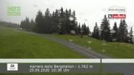 Archiv Foto Webcam Asitz Bergstation 04:00