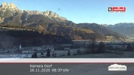 Archiv Foto Webcam Leogang Dorf 02:00