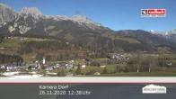 Archiv Foto Webcam Leogang Dorf 06:00