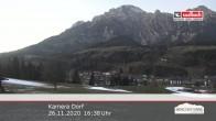 Archiv Foto Webcam Leogang Dorf 10:00